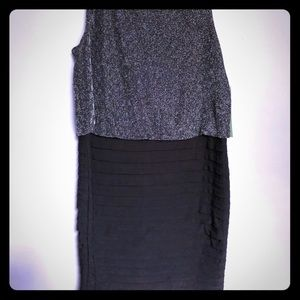 Dresses & Skirts - New silver and black dress